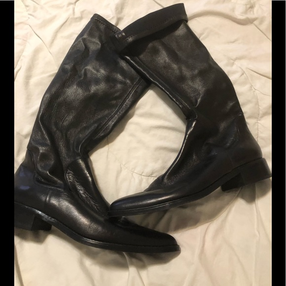 Van Eli Shoes - Van Eli, Black knee high boots